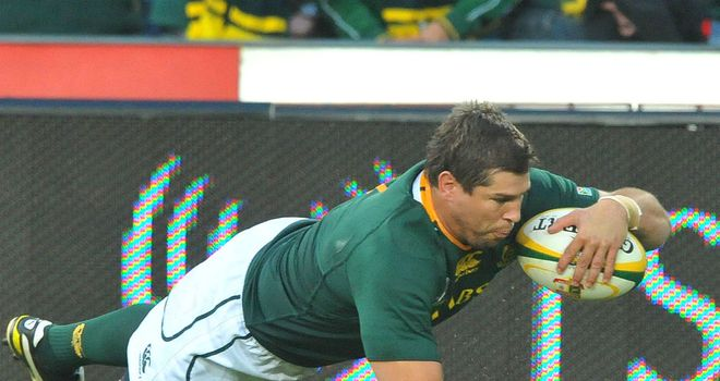 Willem Alberts: Doubtful for the third Test against England with a knee injury