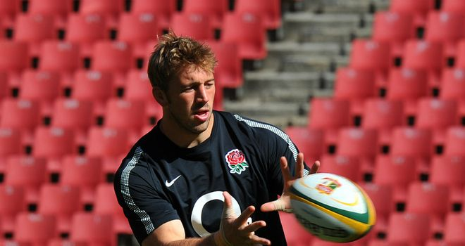 Chris Robshaw: England captain relishing chance to play at 'iconic' Ellis Park