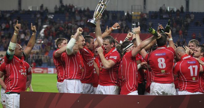 London Welsh are heading for the top flight