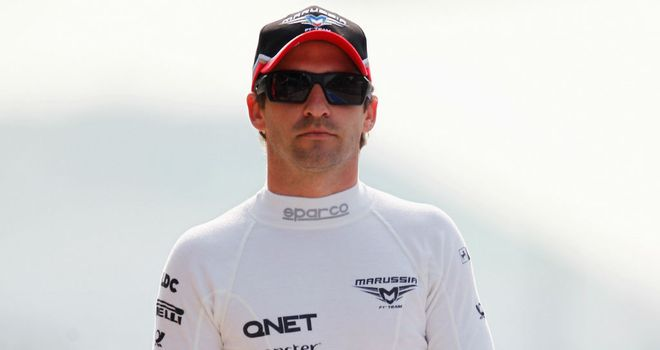 Timo Glock: will not be in action at Valencia on Sunday afternoon