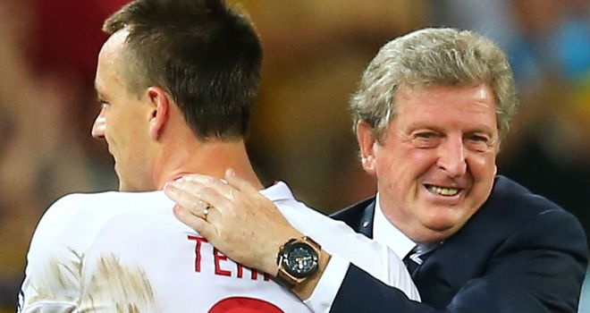 John Terry: Has been a commanding presence at the heart of Roy Hodgson's back four