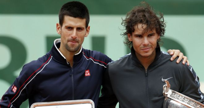 Novak Djokovic and Rafa Nadal: On semi-final collision course