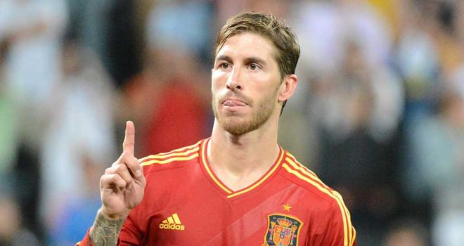 Sergio Ramos: Has helped Spain through to the final of a third tournament in a row