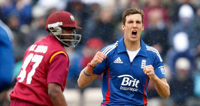 Steve Finn: has played in all six of England's one-dayers in 2012, taking 15 wickets
