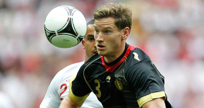 Jan Vertonghen: Has seen his proposed move to Spurs stall