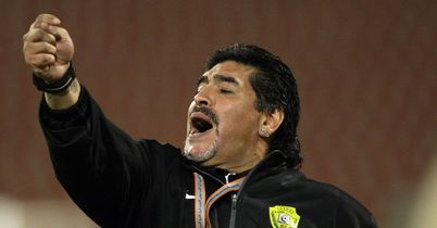 Diego Maradona: Would like to coach former club Napoli