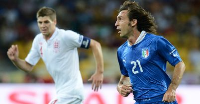 Gerrard and Pirlo: Get the nod in our team of Top Men