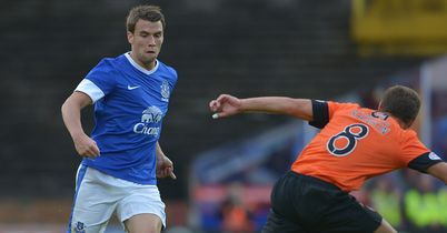 Coleman: In action at Tannadice