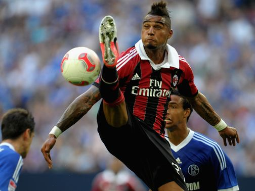 Boateng: Says AC Milan are not panicking