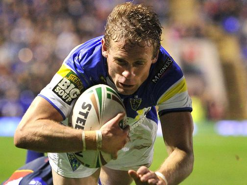 Brett Hodgson: A try and four conversions