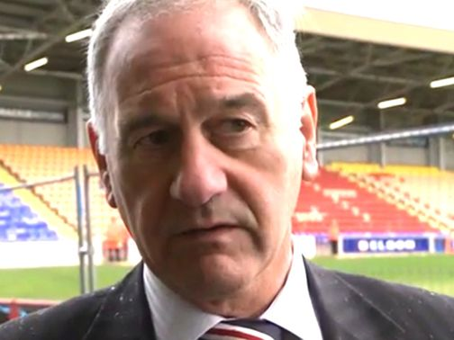 Charles Green: Welcomed the outcome at Hampden