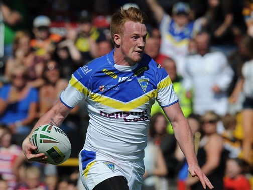 Chris Riley: Scored two tries for Warrington