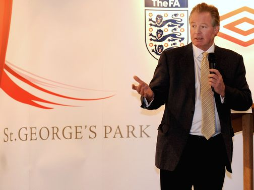 David Sheepshanks: The national football centre's chairman