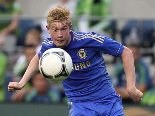 Kevin De Bruyne: Departed Chelsea on loan