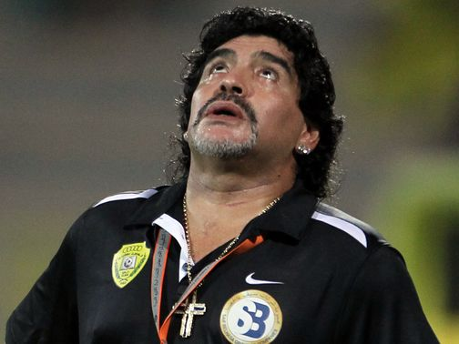 Diego Maradona: Sacked by Al-Wasl