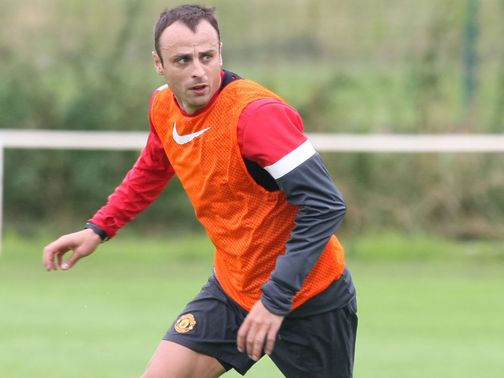 Dimitar Berbatov: Frustrated with his position