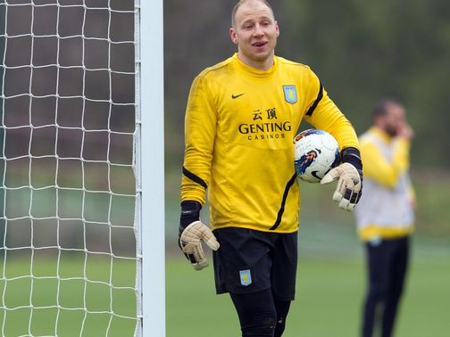 Brad Guzan: New three-year deal at Villa