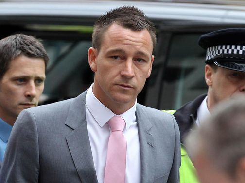 John Terry: Appeared in court on Monday