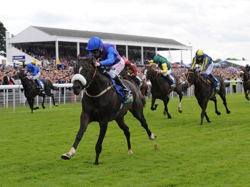 King's Warrior is a clear-cut winner of the John Smith's Cup