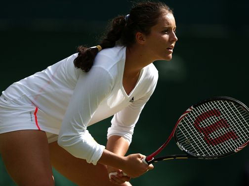 Laura Robson: Into the semi-finals in Palermo