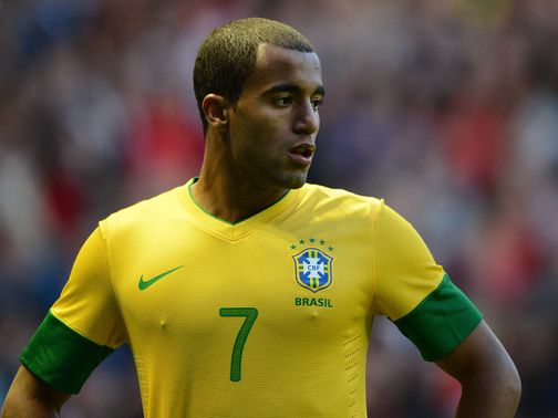 Lucas Moura: Also linked with Man United