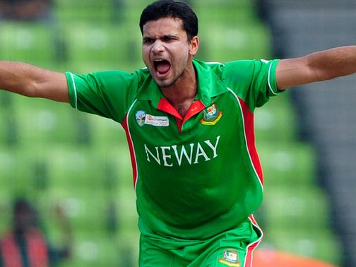 Mashrafe Mortaza: Faces three weeks out with a thigh strain