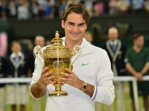 Roger Federer: In his 287th week as world number one