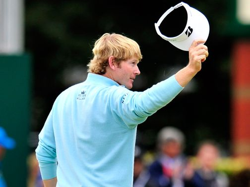 Brandt Snedeker: Now in illustrious Open company