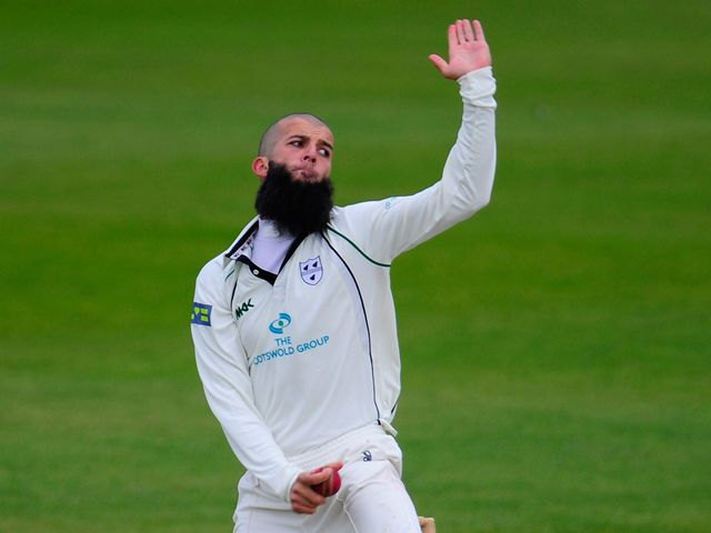Moeen Ali: 12 wickets in the match