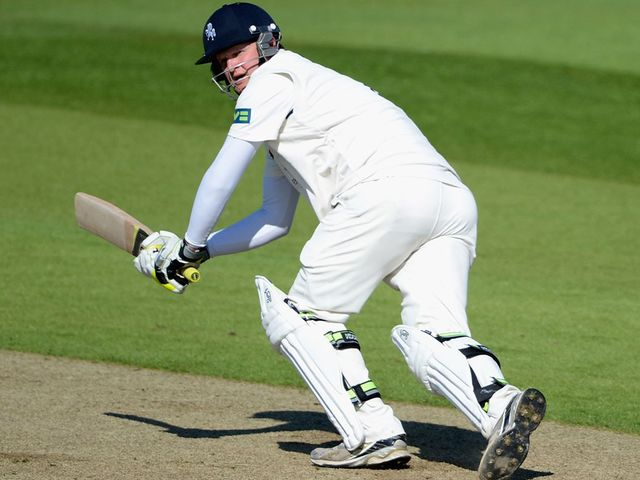 Robert Key: Scored a century for Kent