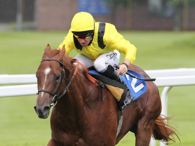 Morawij is clear in the Dragon Stakes