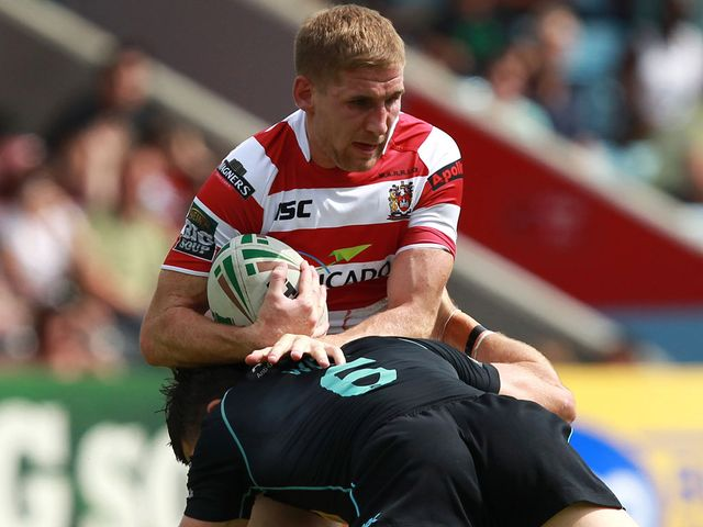 Sam Tomkins: At the heart of the action
