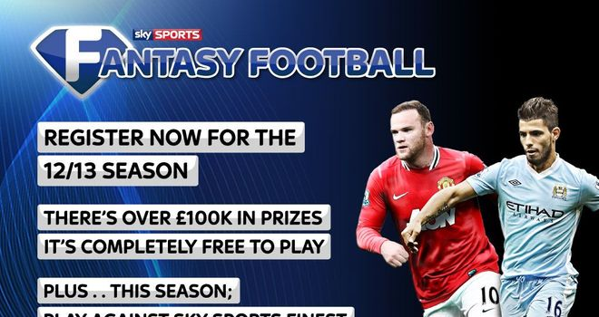 Play Fantasy Football and you could win £100,000