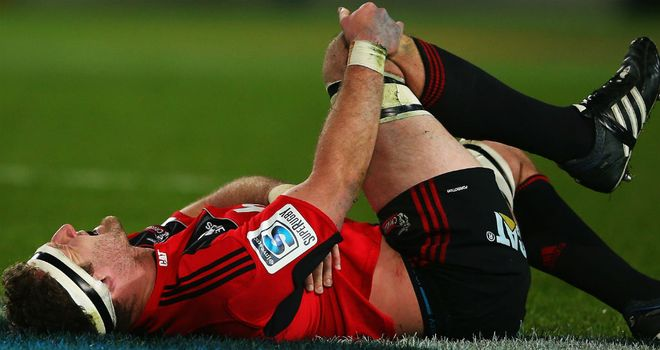 Kieran Read: Could miss the play-offs through injury