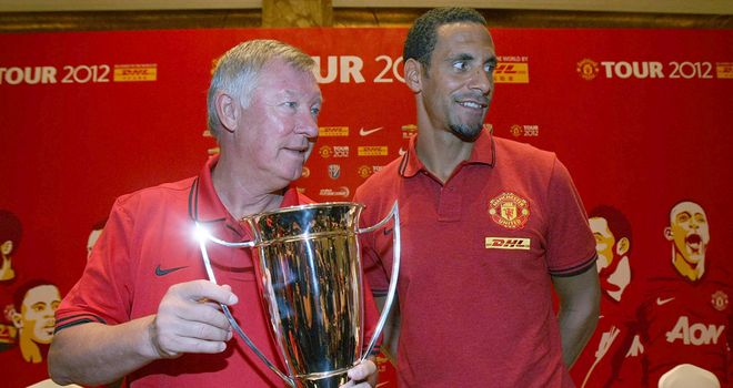 Sir Alex Ferguson is happy Rio Ferdinand will be devoting his energy to Manchester United