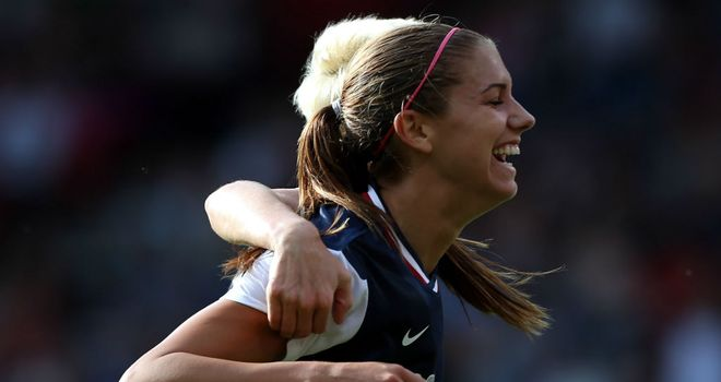 Alex Morgan: Netted a last-gasp winner for USA against Canada