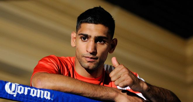 Amir Khan: Looking to move on from the Peterson debacle