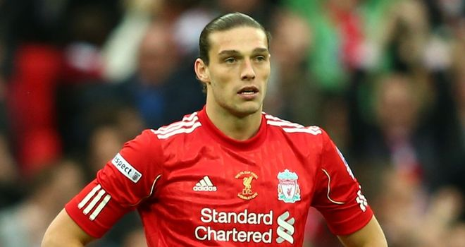 Andy Carroll: Hammers have denied a deal has been done to take striker to Upton Park