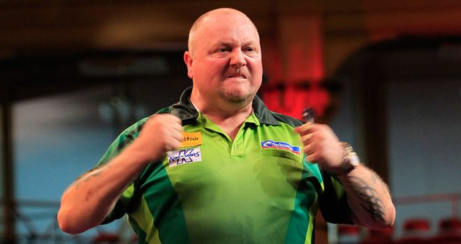 Andy Hamilton: Made the final in 2012