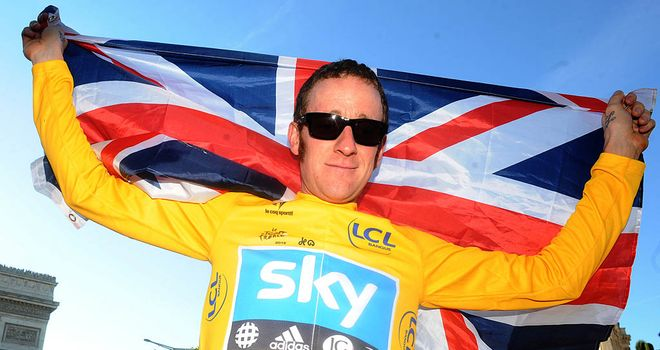 Bradley Wiggins celebrates an incredible Tour triumph - and is now targeting gold