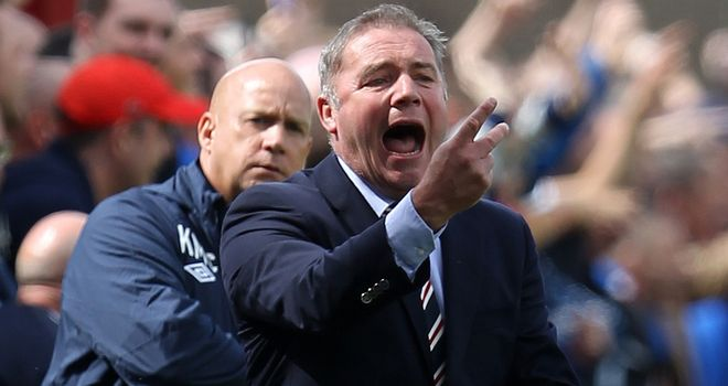 Ally McCoist: Admits some Rangers players feel aggrieved