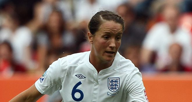 Casey Stoney: England captain eyeing Euro 2013 success