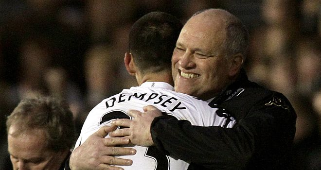 Martin Jol: Has not given up on Clint Dempsey's Fulham future