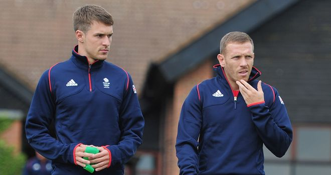 Aaron Ramsey: One of fve Welshmen in the 18-strong Team GB squad