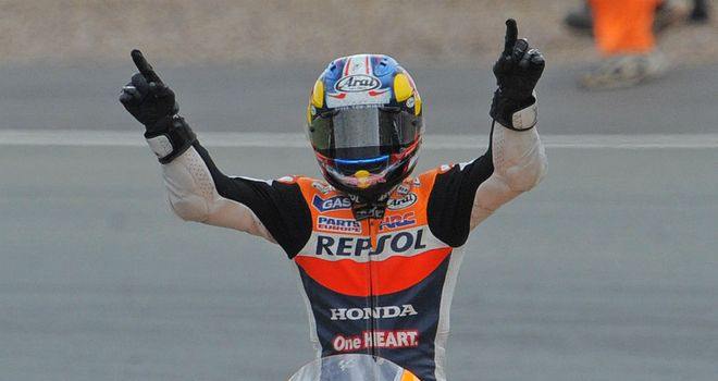 Dani Pedrosa: Wins in Germany for the third year in a row