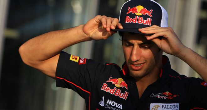 Daniel Ricciardo: Increasingly confident of a 2013 drive