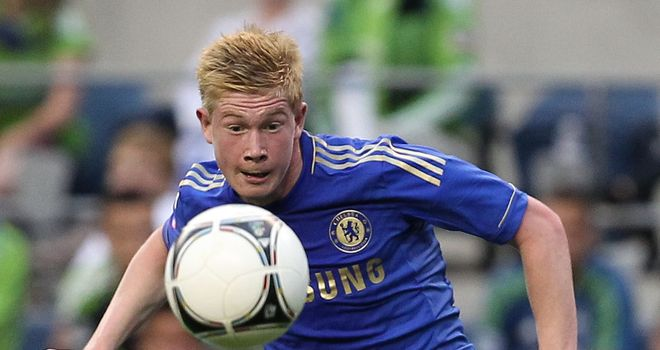 Kevin de Bruyne: Midfield opportunities are likely to be limited at Chelsea in 2012/13