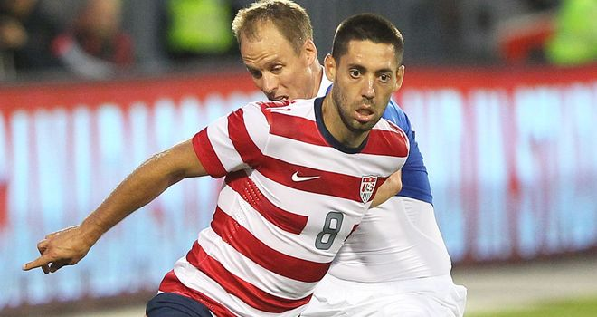 Clint Dempsey: Scored twice for USA against Germany
