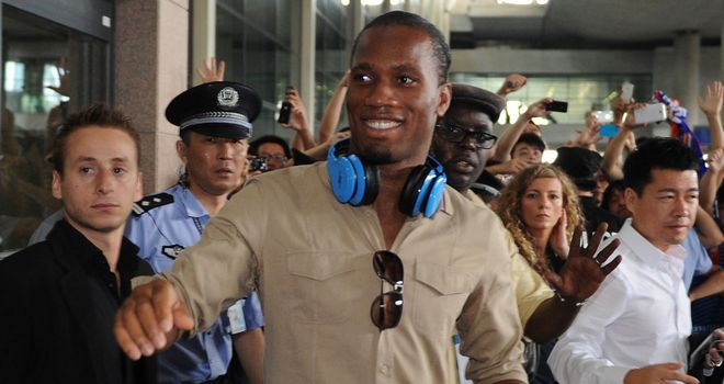 Didier Drogba: Looking forward to the challenge of playing in China