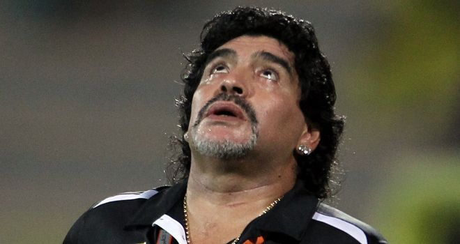 Diego Maradona: Has been without a job since July